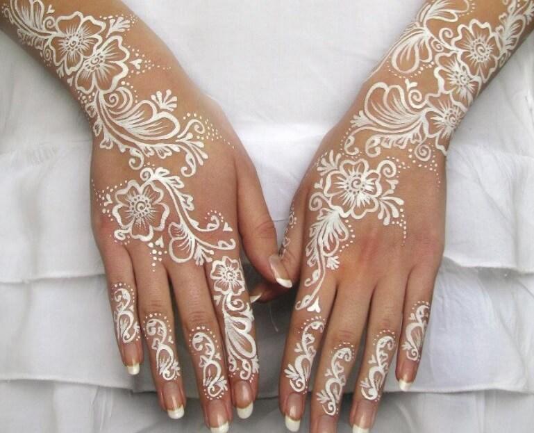 henna tangan untuk pemula