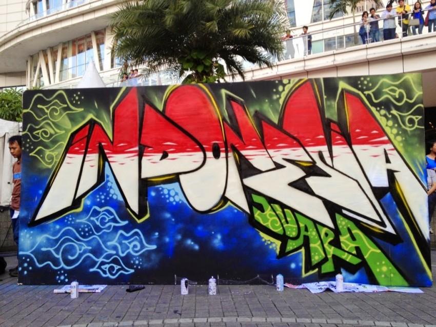 grafiti tulisan indonesia