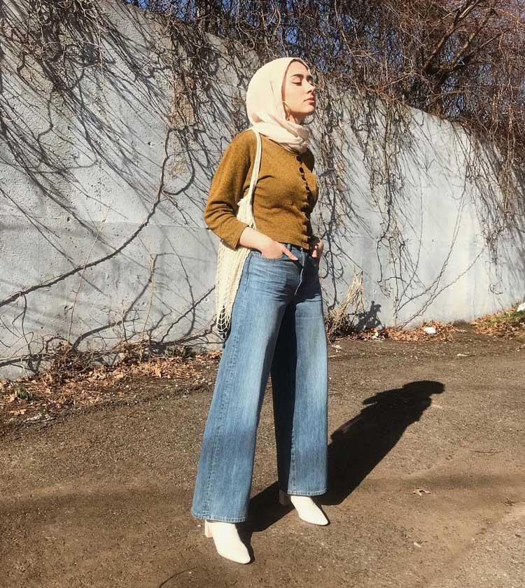 fashion kondangan jeans