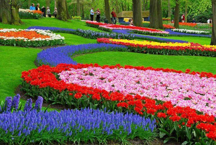 Jenis Taman Bergaya Eropa