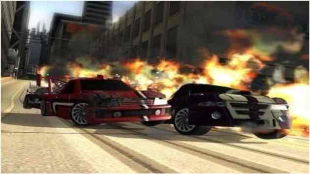 Crash N Burn PS2 ISO Highly Compressed