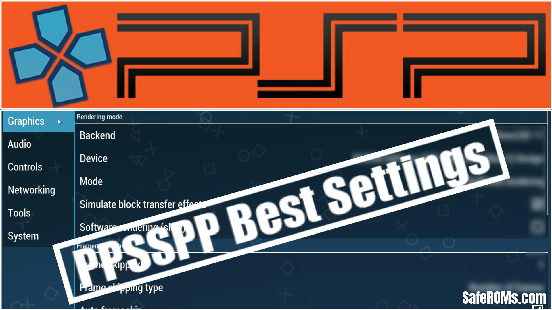 PPSSPP Best Settings PC