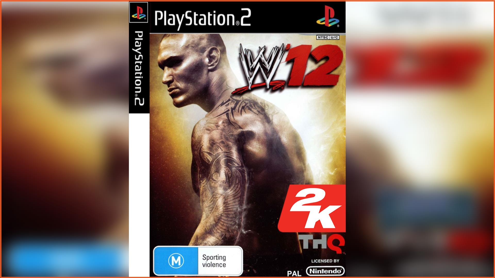 WWE 2K12 PS2 ISO Download