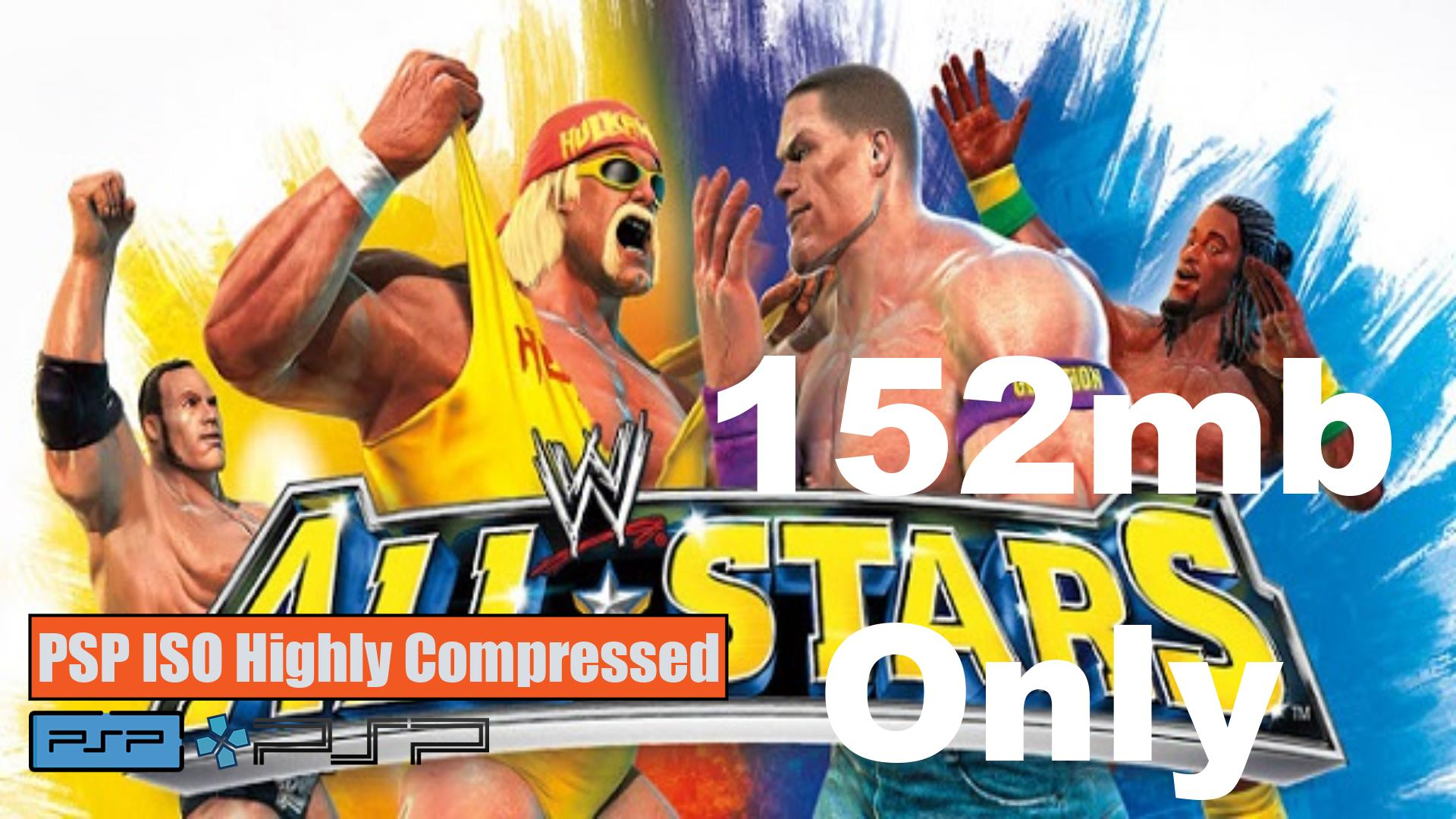 WWE All Stars PSP ISO Highly Compressed