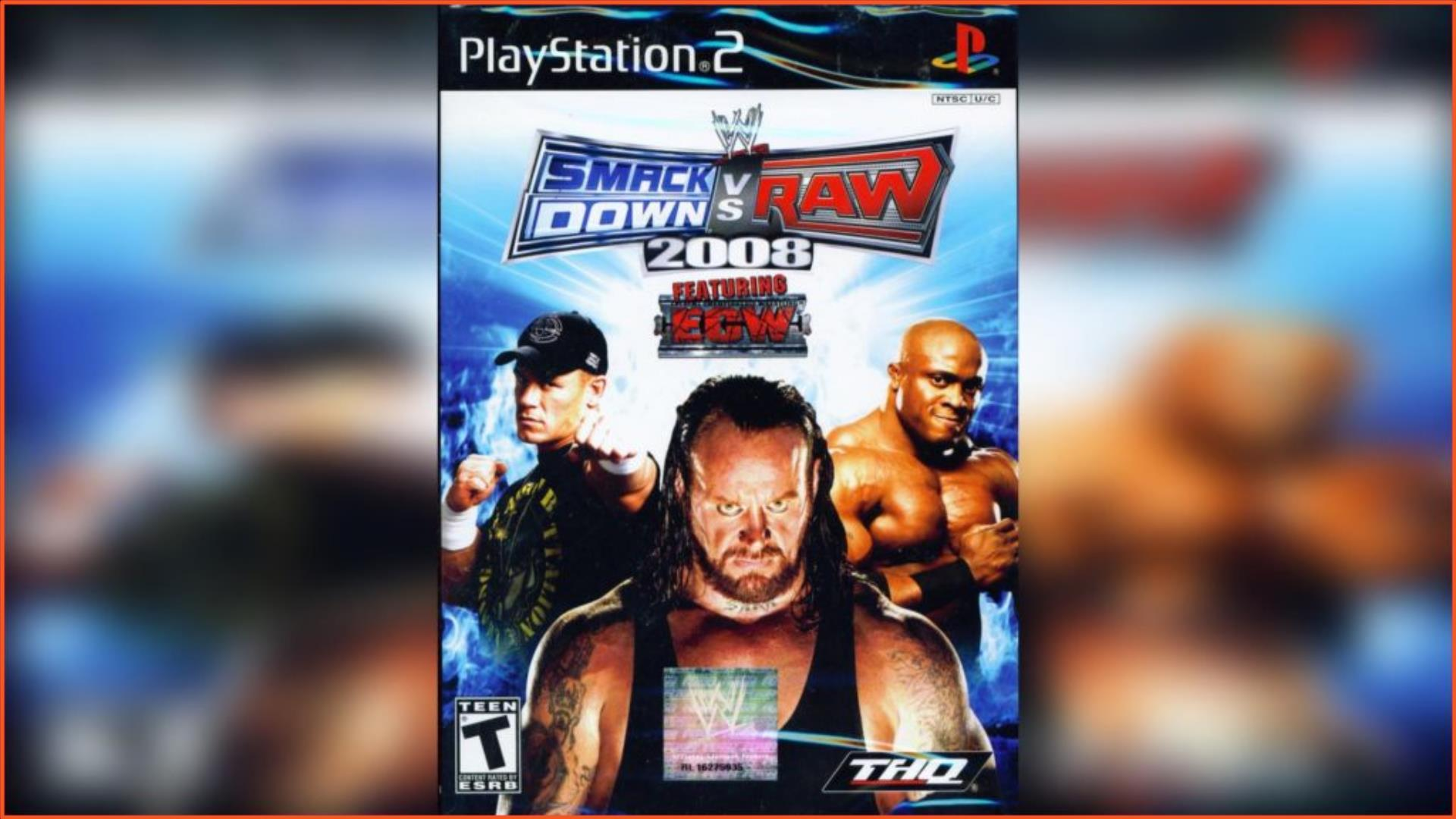 WWE SmackDown vs Raw 2008 PS2 ISO Download