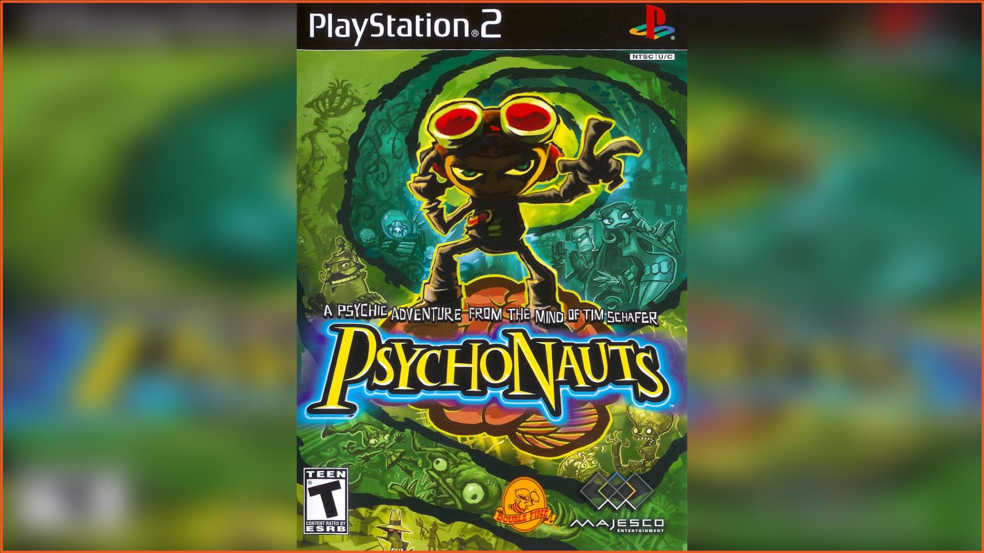 Psychonauts PS2 ISO Download