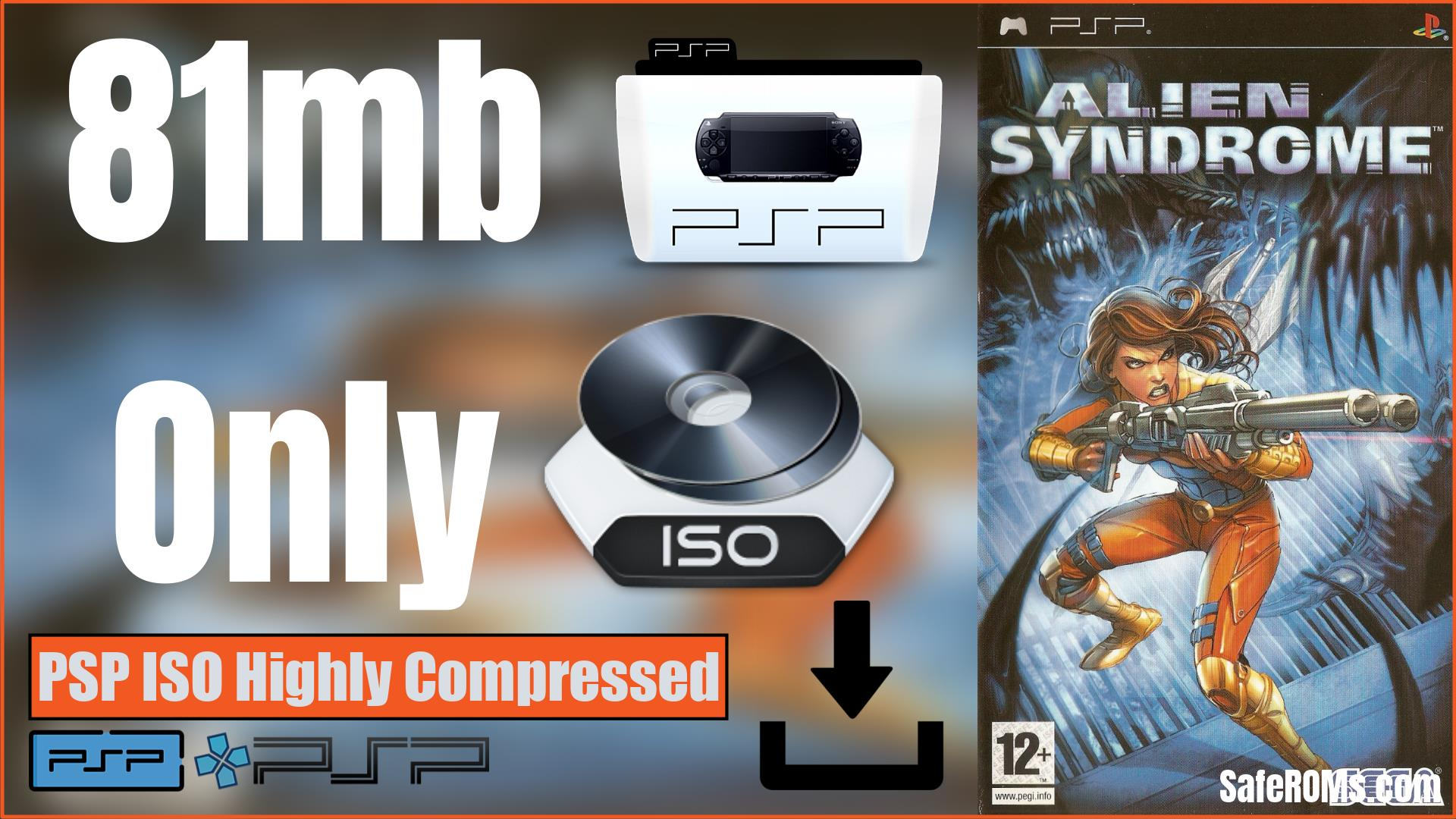 Alien Syndrome PSP ISO Highly Compressed