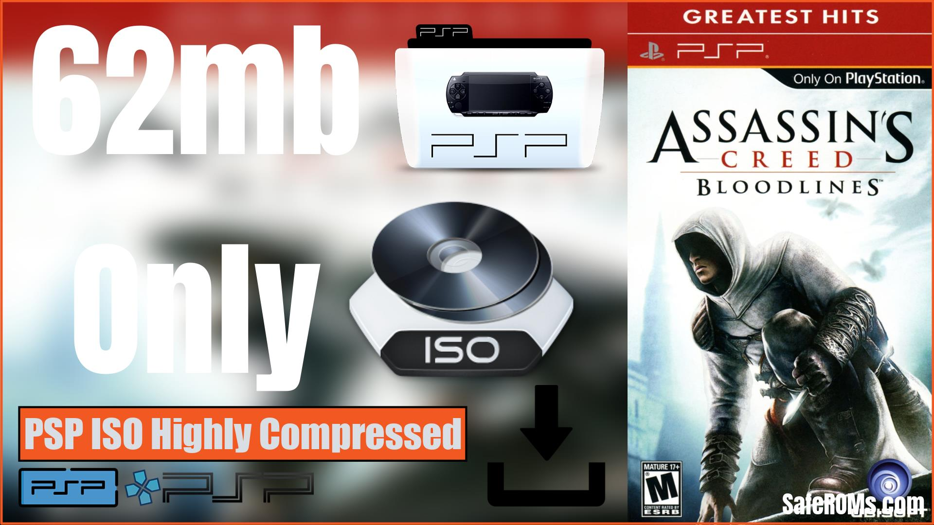 Assassin's Creed PSP ISO Highly Compressed