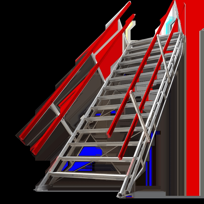 Double Width Portable Stairs Adjustastairs Double From Safesmart | Portable Stairs With Handrail | Chair | Plastic Portable | Camper | Wall Mounted | Ladder