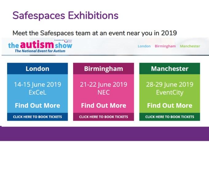 The Autism Show Safespaces 2019