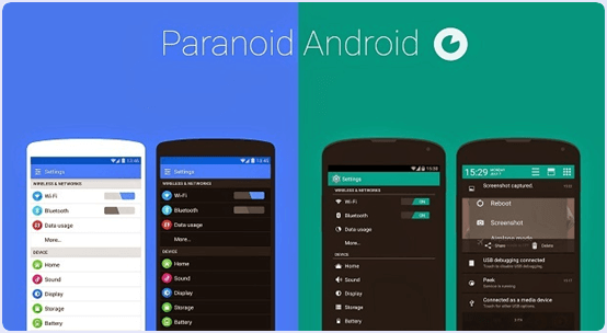 Paranoid Android-Best Android Custom Rom 2017
