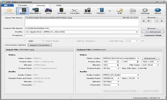 AVS Media Converter for windows pc