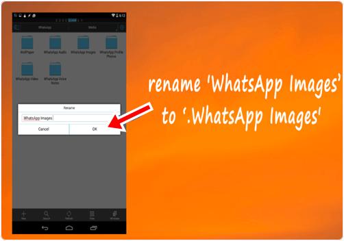 rename whatsapp mobile folder