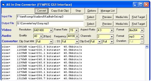 Ffmpeg Windows Software