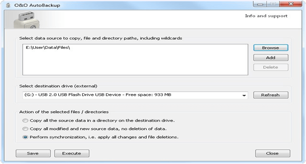 OO AutoBackUp PC Software