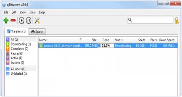 QbitTorrent PC Software