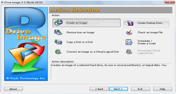 R-Drive Image PC Software