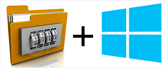 windows files folder locker