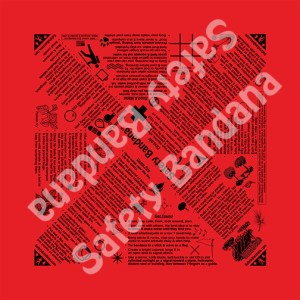 Safety Bandana Red