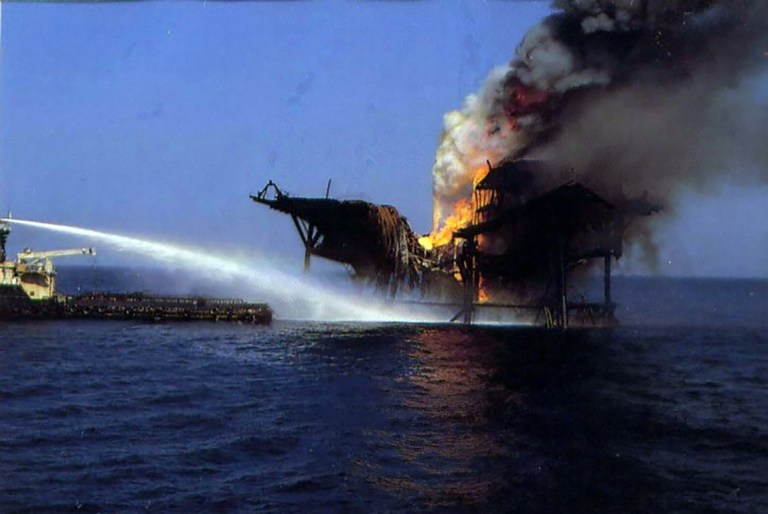 Offshore blowout image