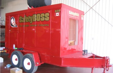 Skid Pump Unit for our fire protection and well control service