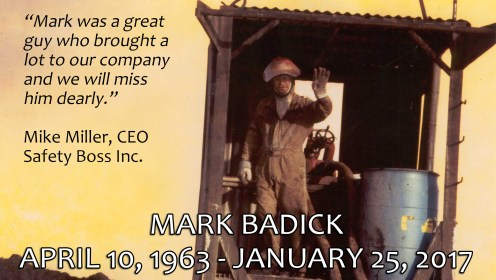 One Year Later - Remembering Mark Badick