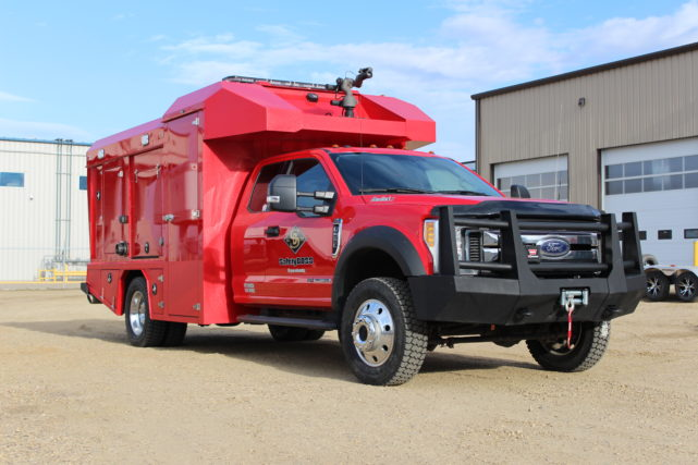 Badick series combination unit / fire truck for our fire protection and standby services
