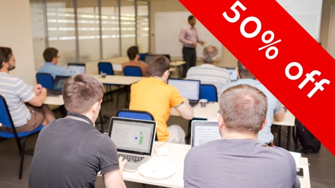 Save 50% on your fall training - book today