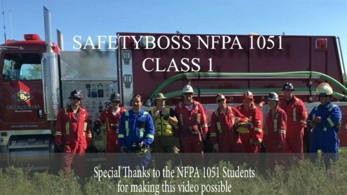 NFPA 1051 Wildland Firefighter Training