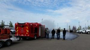 Ultra-High Pressure Fire Truck Demonstration