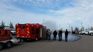 Ultra-High Pressure Fire Truck Demonstration