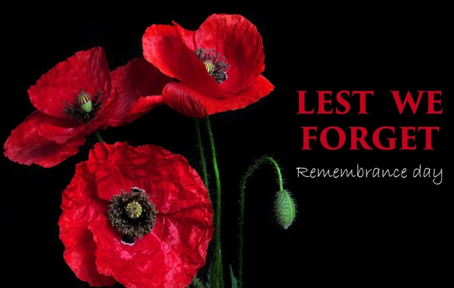 Ways to remember - Remembrance Day 2018