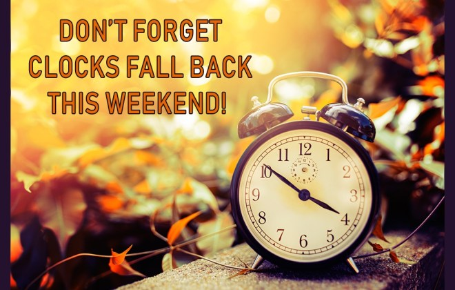 6 Daylight Savings tips to help you Fall Back Safely