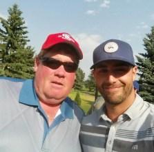 Pembina Golf tournament 2017 Corey Dool and Ebs