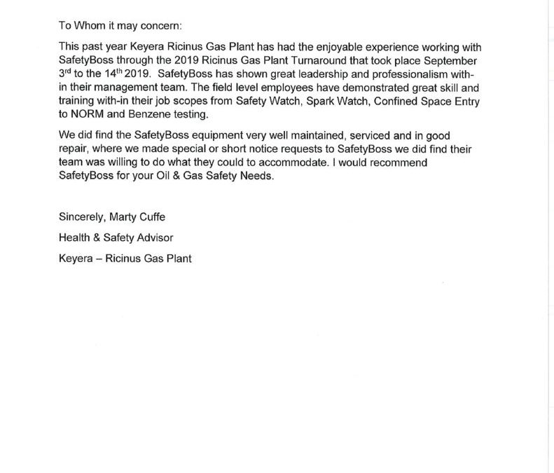 thumbnail of Keyera Reference Letter