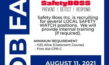 Job Fair – Safety Watch Recruiting
