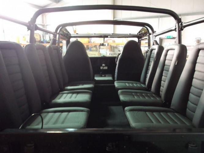 Land Rover Defender 110 Soft Top Multi Point Bolt In Roll