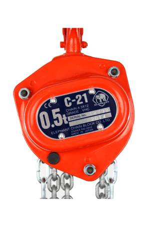 Elephant Chain Block Hoist 500 kg, 3mtr to 30mtrs | CBELE05T | SafetyLiftinGear