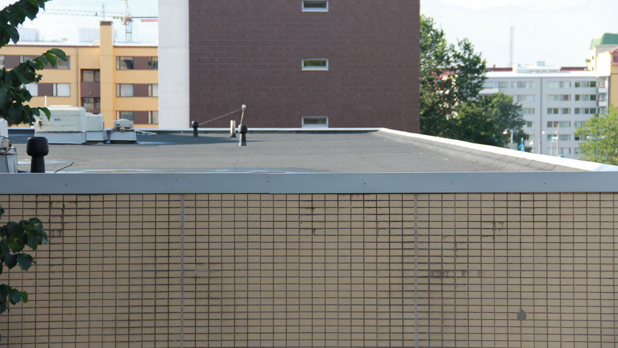 Flat roof safety