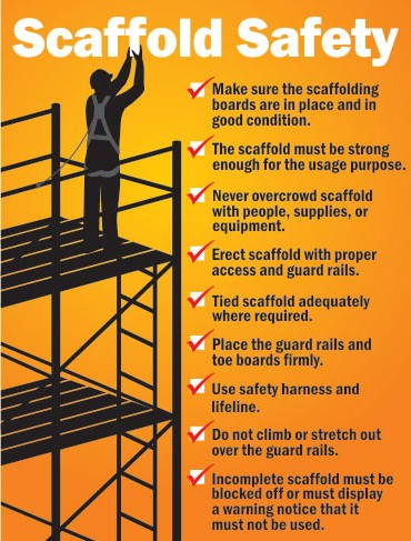 Toolbox Talk – Scaffolding Safety