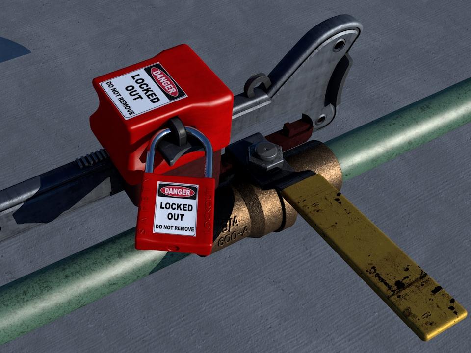 Lockout-Tagout and Hazardous Energy Control Image