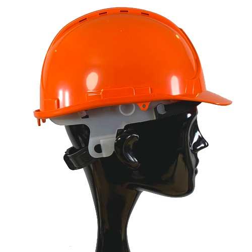 Orange Safety Helmet