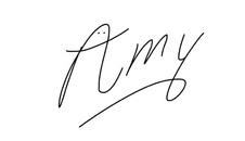 amy signature
