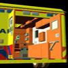 Dutch Ambulance interior texture