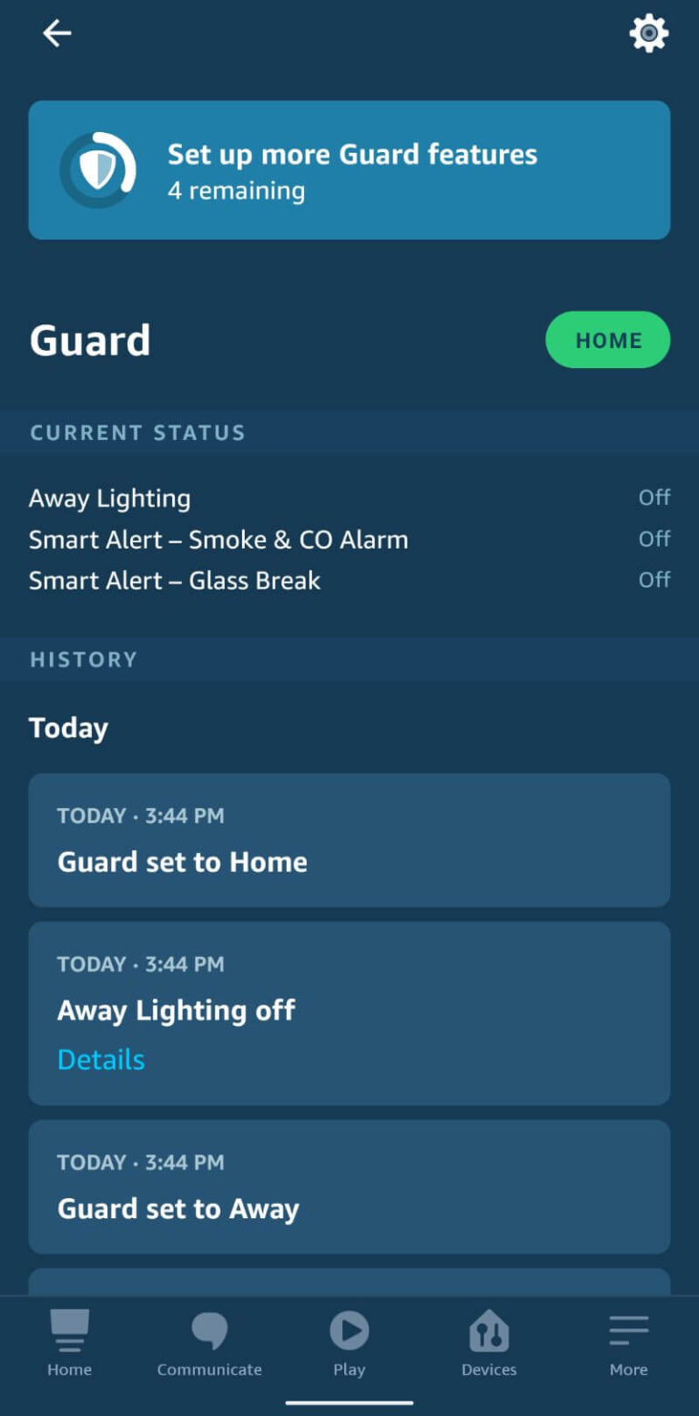 what is alexa guard safewise