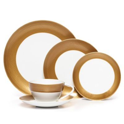 Mikasa Hammersmith Gold 5 piece place setting - Bed, Bath & Beyond