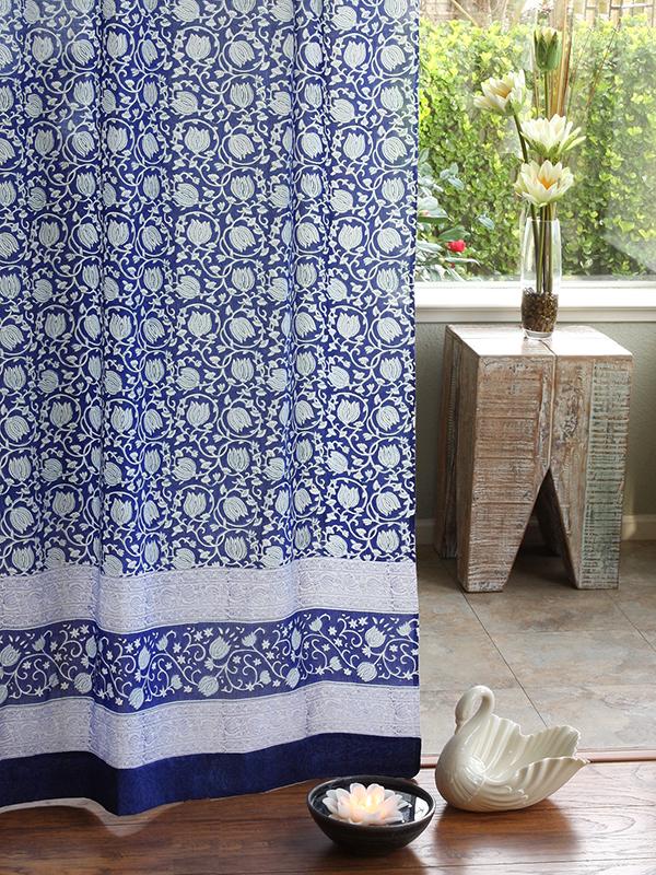 Design A Bright Blue And White Living Room Saffron Marigold