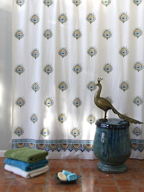 Peacock Bath Decor Inspired By Dance O Peacock