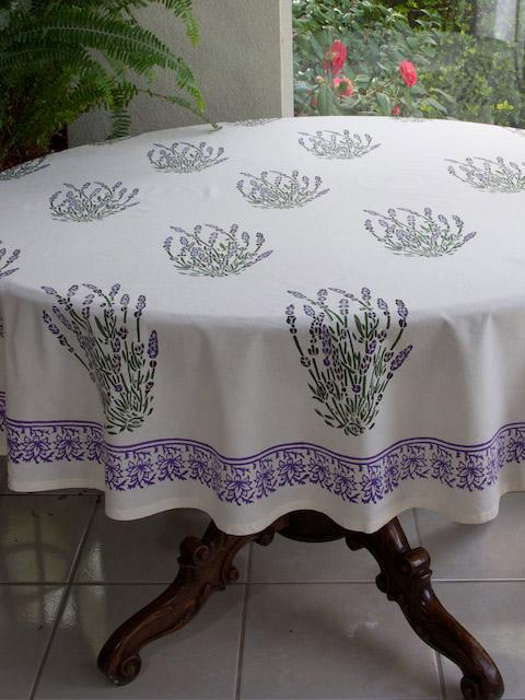 White Tablecloth French Tablecloth Provence Tablecloth 90 And 70 Round Table Cloths Saffron