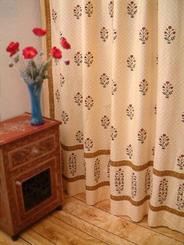 Indian Shower Curtains Batik Shower Curtain Fabric Shower Curtains Cotton Bath Shower Curtains